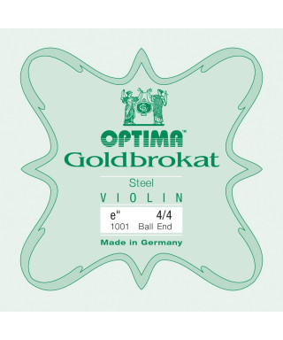 CORDA MI OPTIMA GOLDBROKAT 1001 0,26  BALL END  PER VIOLINO 4/4