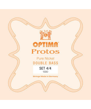 SET OPTIMA  PROTOS 1300  PER CONTRABBASSO 4/4