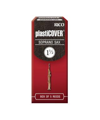 CONF. 5 ANCE RICO RRP05SSX150 PLASTICOVER SAX SOPRANO 1,5