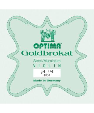 CORDA SOL OPTIMA GOLDBROKAT 1004 PER VIOLINO 4/4