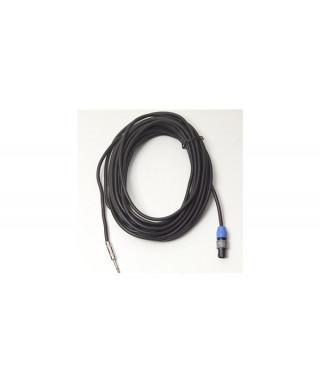 Rockgear RCL 30808 D8 Cavo Speaker SpeakON 2 Poli/ Jack TS 6,3mm, 15m