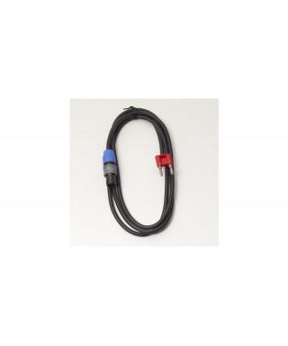 Rockgear RCL 30810 D8 Cavo Speaker SpeakON 2 Poli/ Banana 4mm, 2m