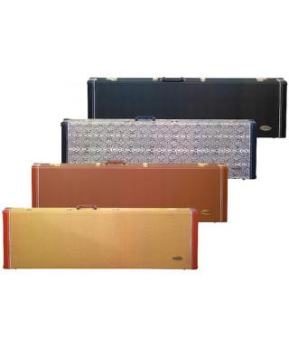 Rockgear RC 10605 B/SB Case Standard rettangolare per Basso elettrico, Black Tolex