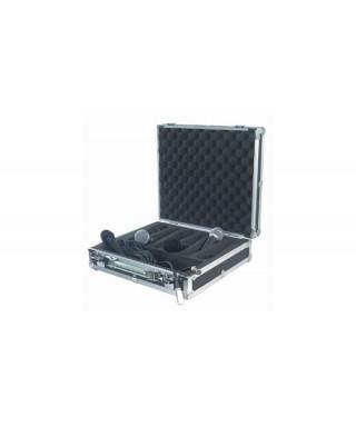Rockgear RC 23206 B Flight Case per 6 microfoni