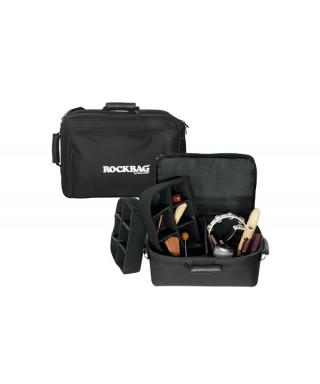 Rockgear RB 22784 B Borsa Deluxe per Accessori percussioni 41x32x29cm, Large