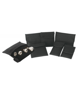 Rockgear RB 26405 B Borsa Premium per 4 Bocchini, 12x9,5cm