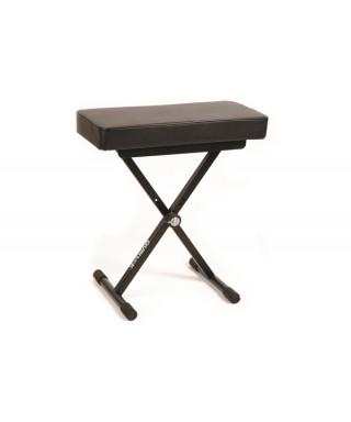 Quik Lok BX/8 panca per piano con un comodo cuscino, alto e imbottito