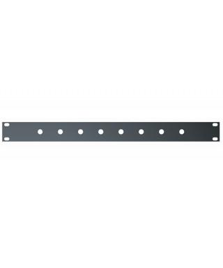 """Quik Lok RS/281 Pannello rack 19 preforato da 1 unità"""""""