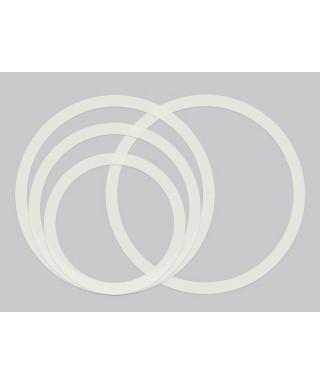 Hayman RIM-SET-1 Set sordine per batteria 10 12 14 14