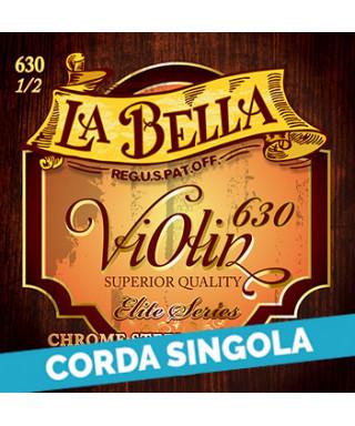 LaBella 633-D 3rd - 630 Corda singola per violino