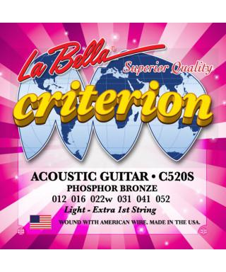 LaBella C520S Muta di corde per chitarra acustica
