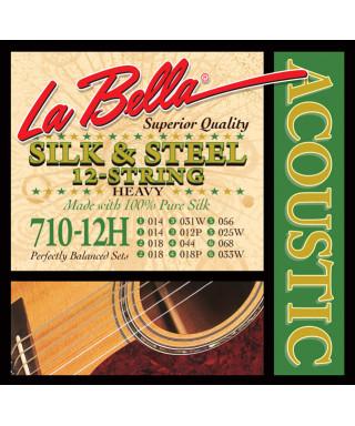 LaBella 710-12H Muta di corde per chitarra acustica 12 corde