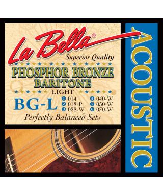 LaBella BG-L Muta di corde per chitarra acustica baritona