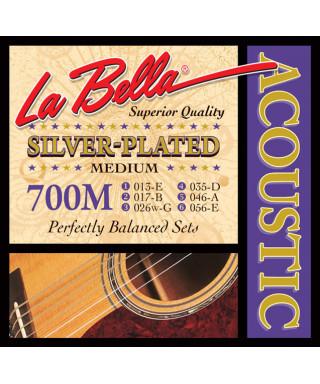 LaBella 700M Muta di corde per chitarra acustica