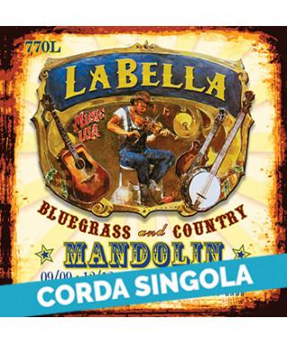LaBella 771L 1st - 770L .009 Corda singola per mandolino soprano