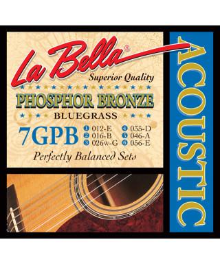 LaBella 7GPB Muta di corde per chitarra acustica