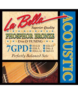 LaBella 7GPD Muta di corde per chitarra acustica