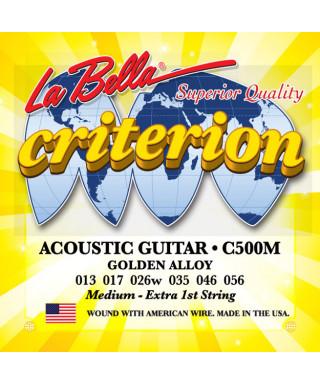 LaBella C500M Muta di corde per chitarra acustica