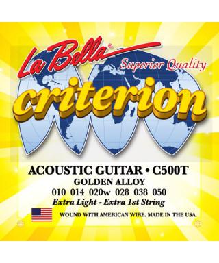LaBella C500T Muta di corde per chitarra acustica