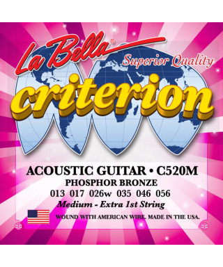 LaBella C520M Muta di corde per chitarra acustica