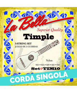 LaBella TIM13 3rd - TIM10 Corda singola per timple