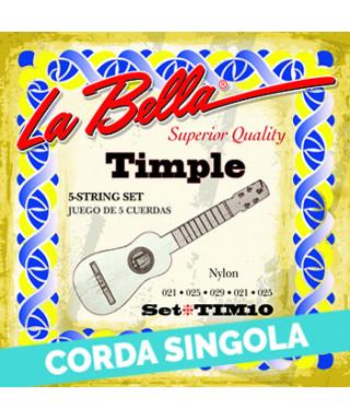 LaBella TIM12 2nd - TIM10 Corda singola per timple