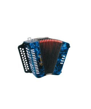 Serenelli Y-08-BCU Fisarmonica diatonica 8 bassi