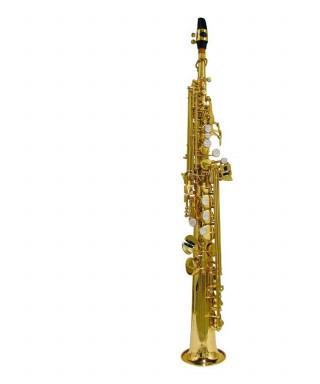 Stewart Ellis SE-700-L Sassofono soprano con astuccio semi