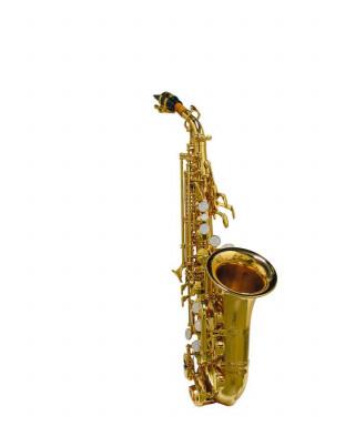 Stewart Ellis SE-700-LC Sassofono soprano curvo con astucci
