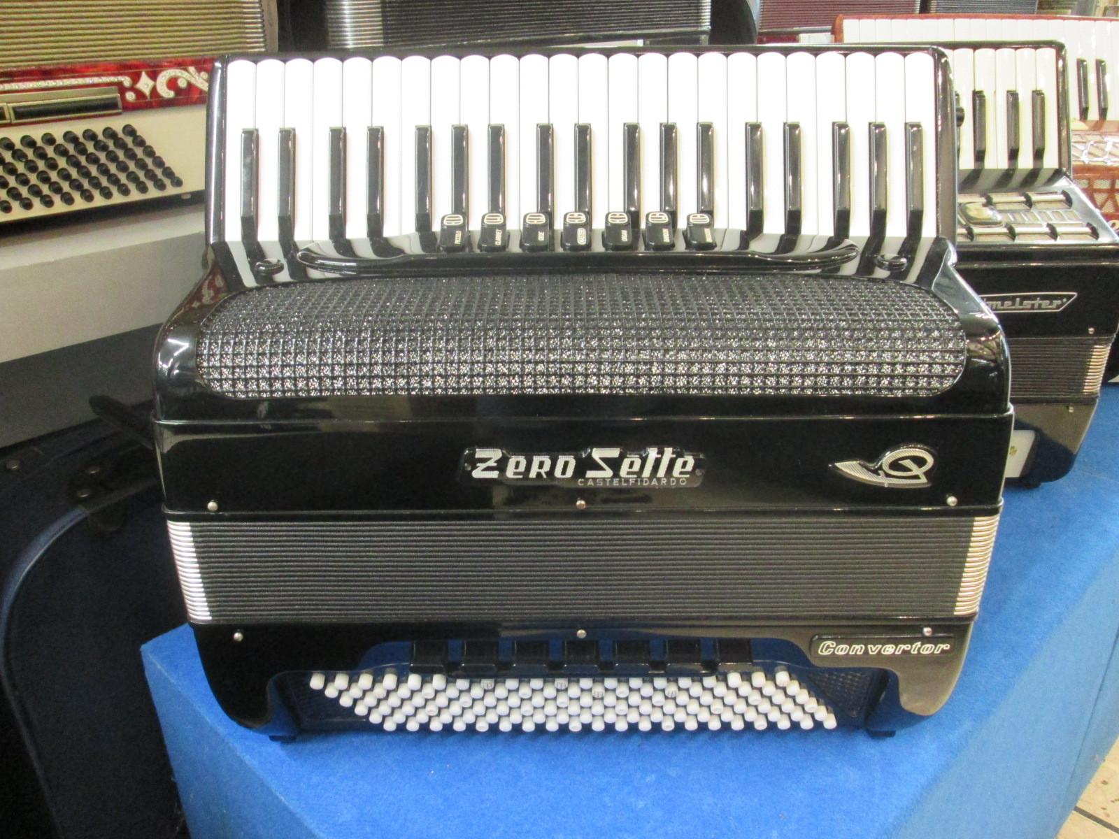 Zerosette mod. b convertor fisarmonica 120 bassi a. piazzo s.r.l.