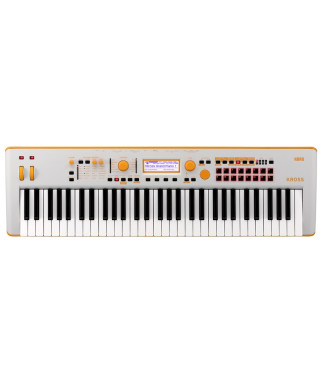 KORG - KROSS2-61-GO (GREY-ORANGE)