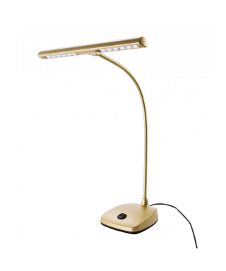 K&M gold-colored LED piano lamp
